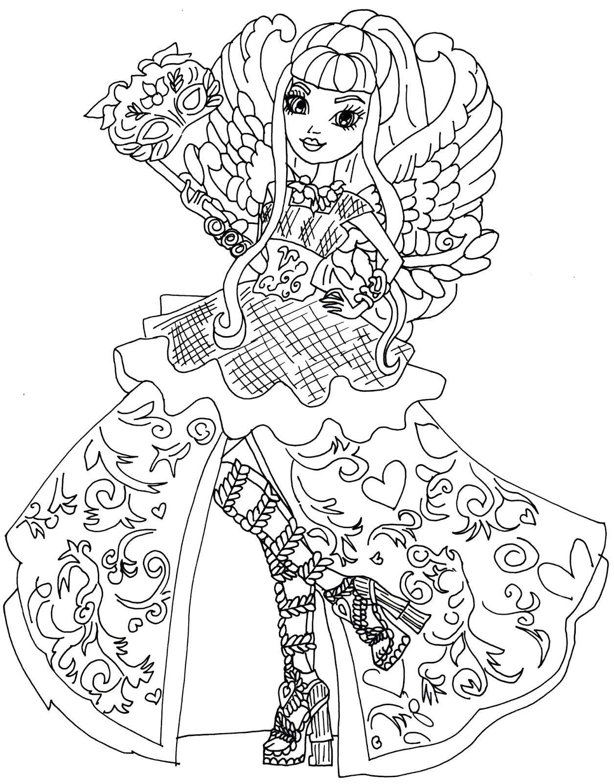 Ever after High Coloring Pages Dragon Games Ever after High Dragon Games Coloring Pages at
