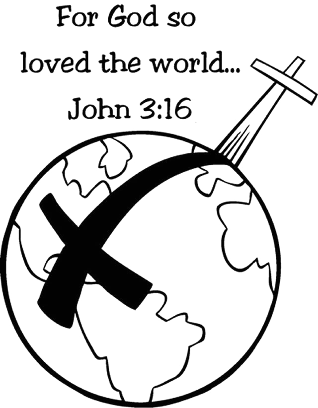 For God so Loved the World Coloring Page for God so Loved the World Coloring Page Coloring Home