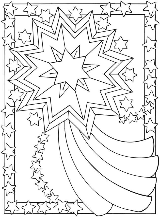 4th birthday coloring pages