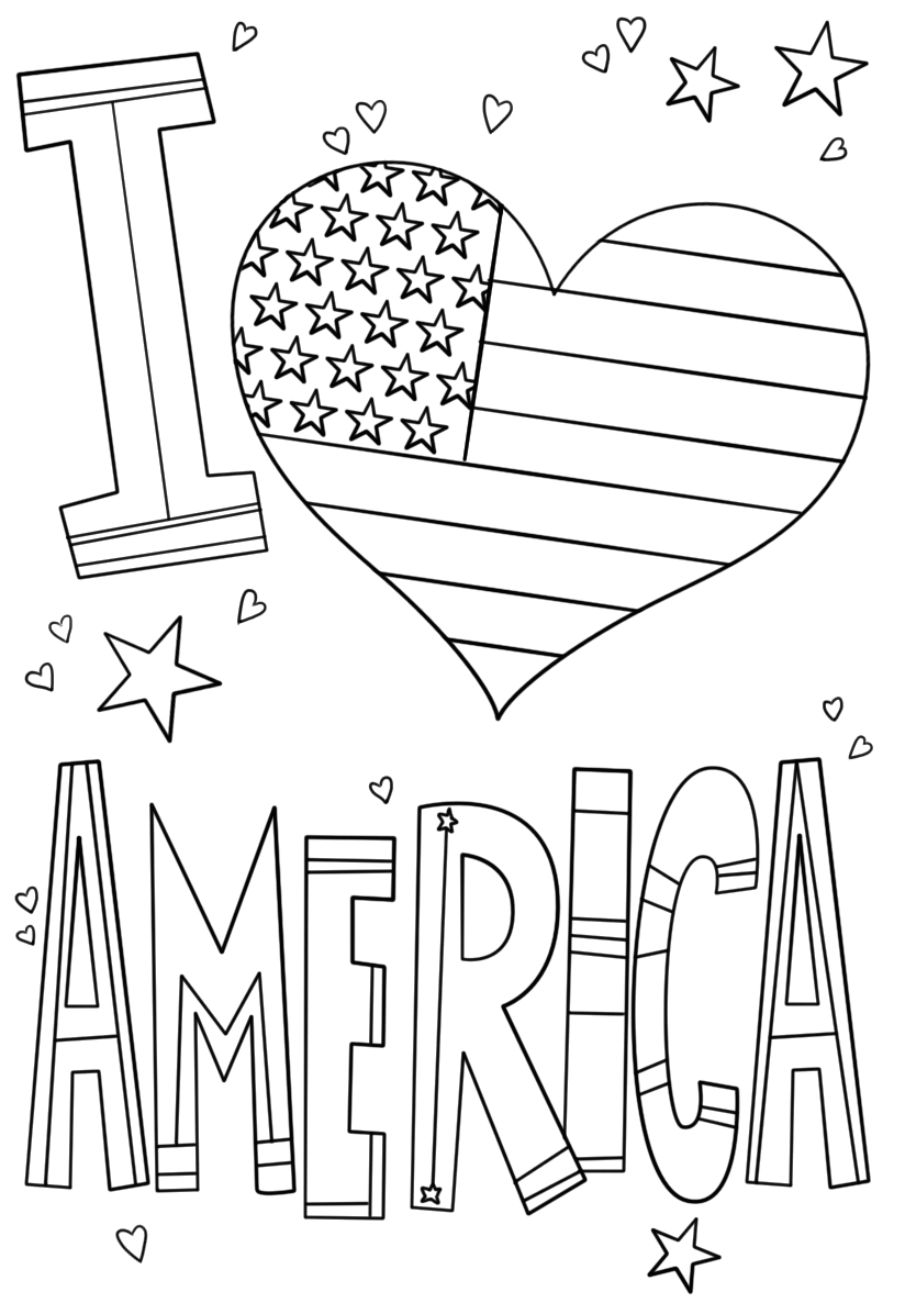 happy 4th of july coloring pages printable templates