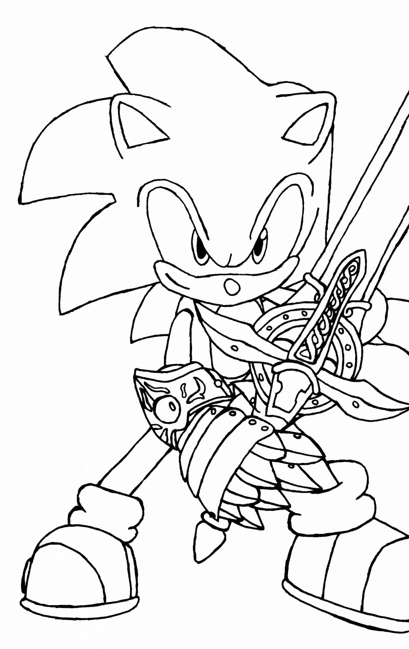 Free Coloring Pages Of sonic the Hedgehog Free Printable sonic the Hedgehog Coloring Pages for Kids