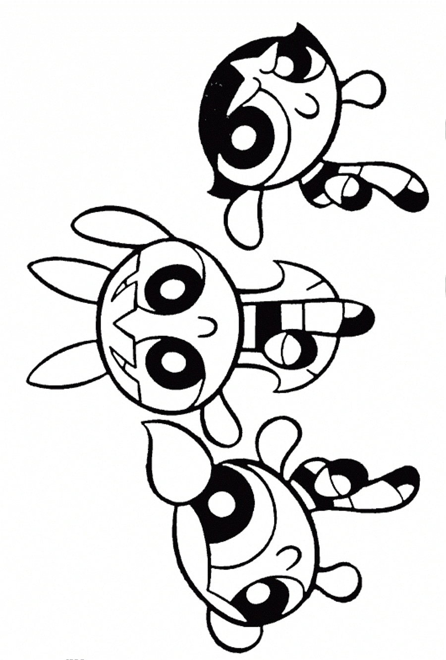 Free Coloring Pages to Print for Girls Free Printable Powerpuff Girls Coloring Pages for Kids