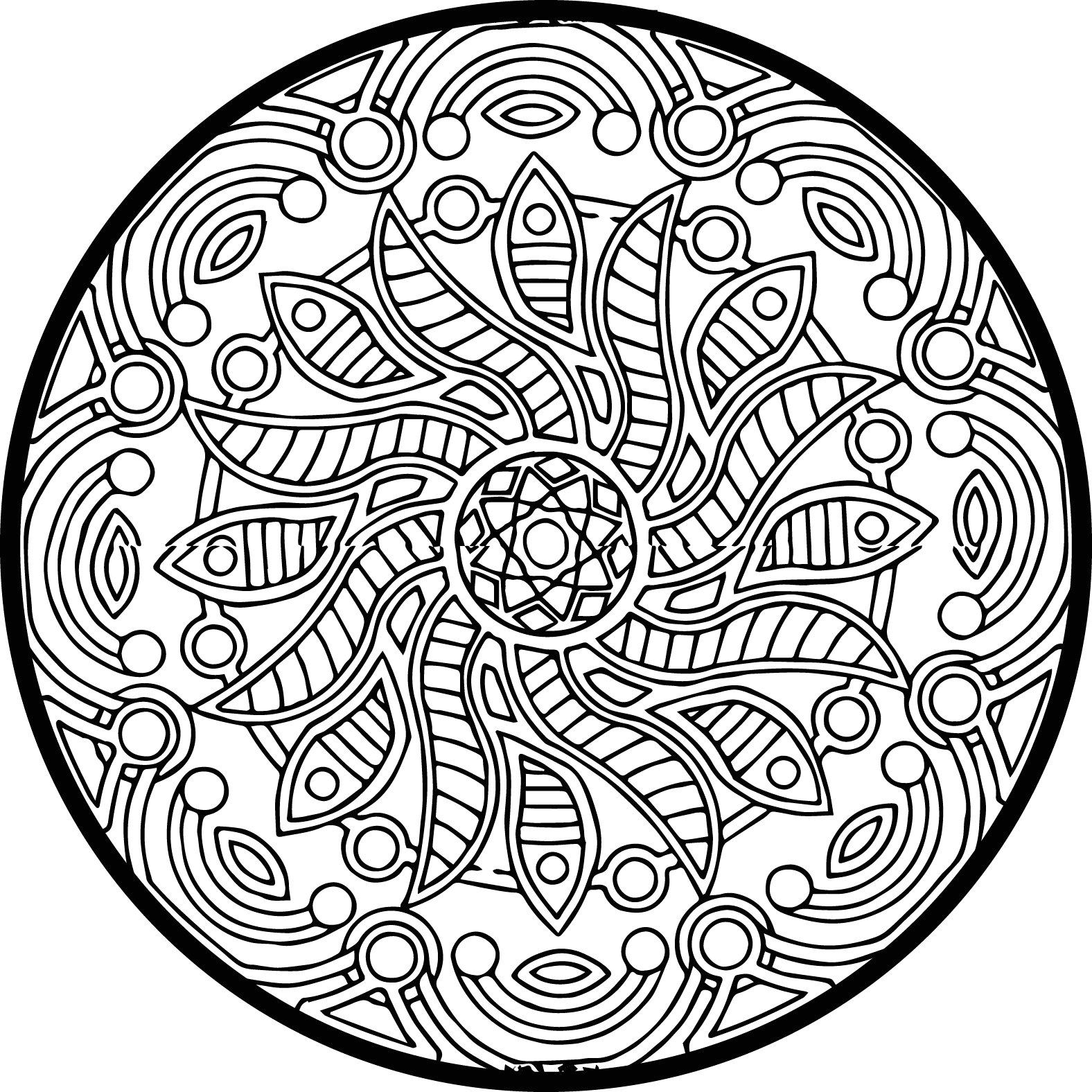 Free Full Size Coloring Pages to Print Full Size Coloring Pages for Adults at Getcolorings