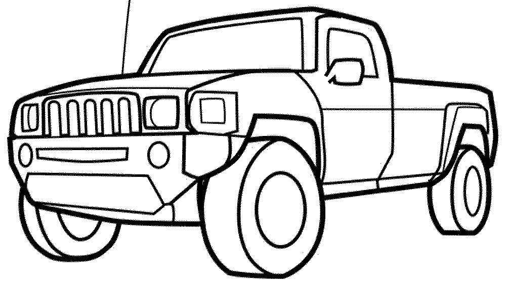 Free Printable Coloring Pages Cars and Trucks Cars and Trucks Coloring Pages
