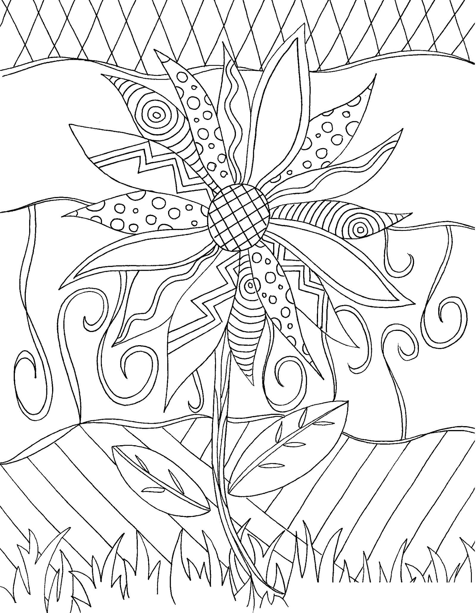 Free Printable Coloring Pages for Adults and Kids Cool Coloring Pages for Adults
