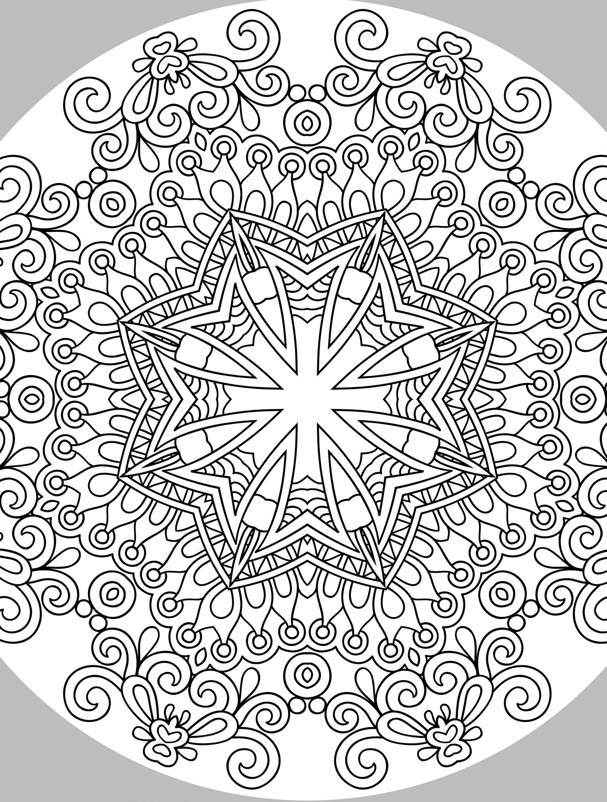 Free Printable Coloring Pages for Adults Christmas Printable Christmas Coloring Pages for Adults at