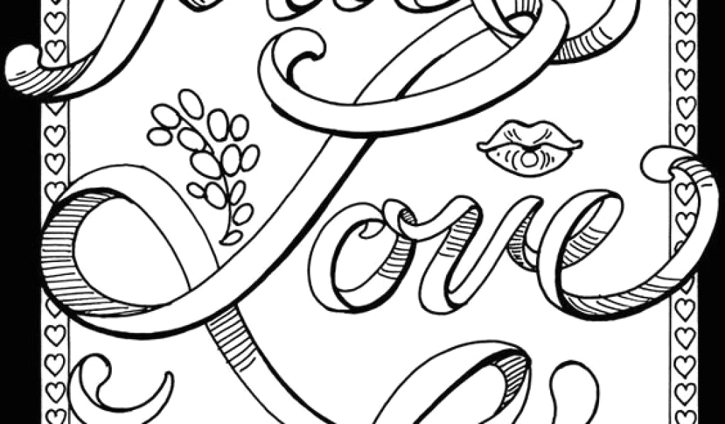 cuss word coloring pages collection