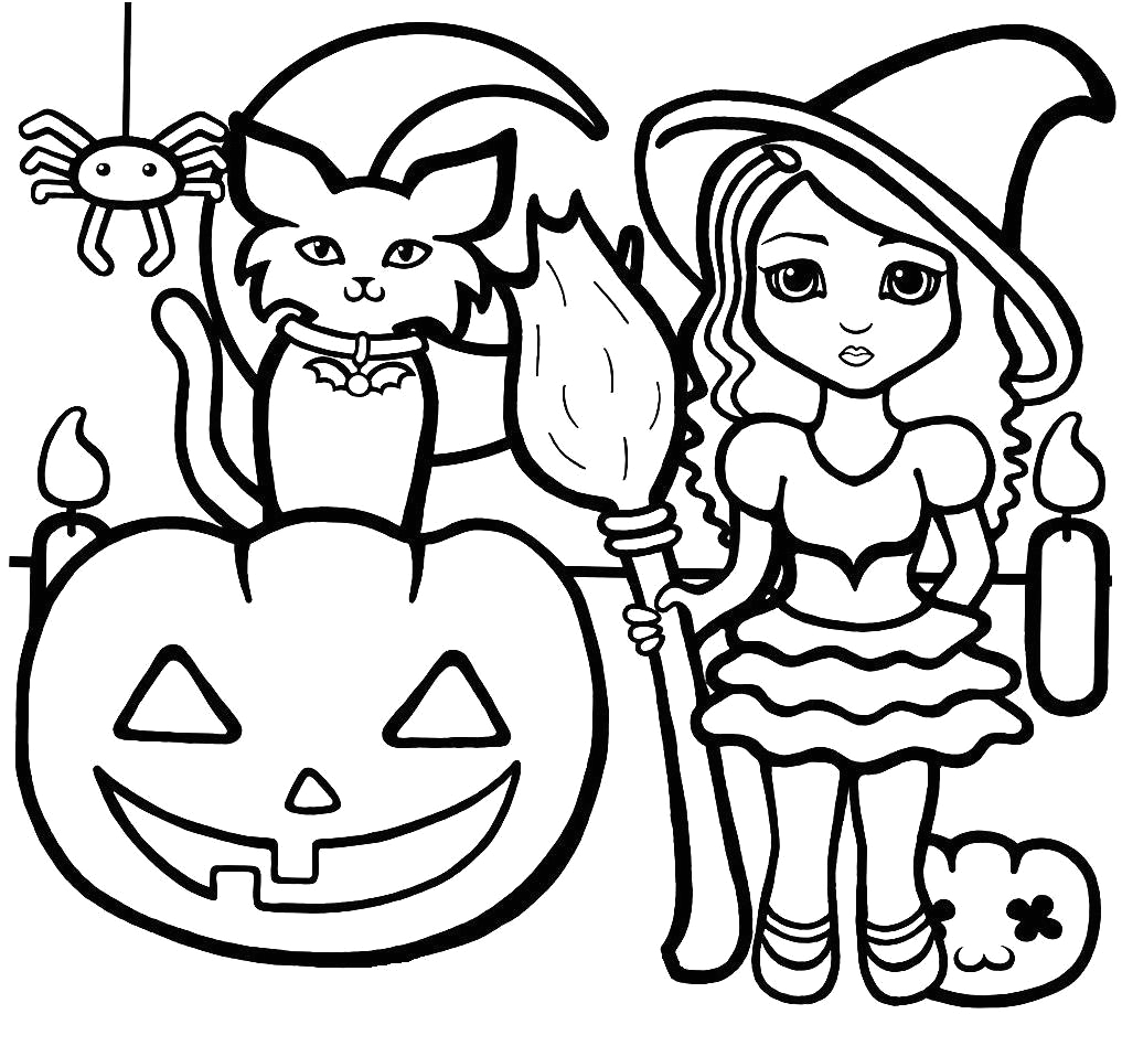 Free Printable Halloween Coloring Pages for Kindergarten Halloween for Preschool Coloring Page Free Coloring