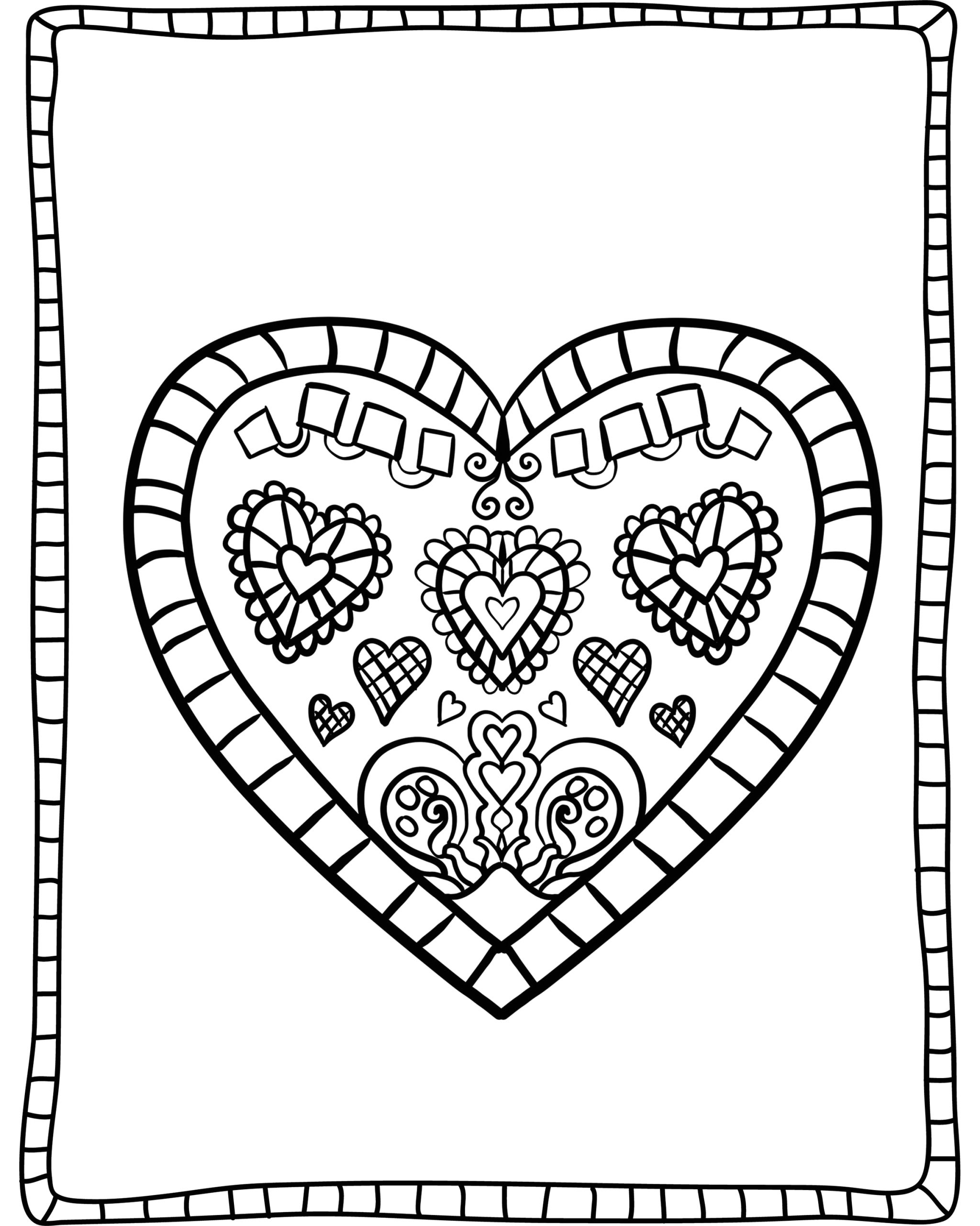 adult valentines day coloring sheets