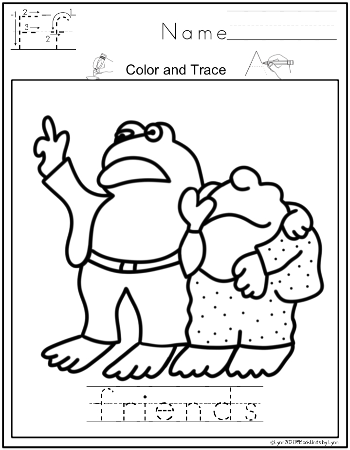 FROG AND TOAD ARE FRIENDS BOOK UNIT AND CRAFT