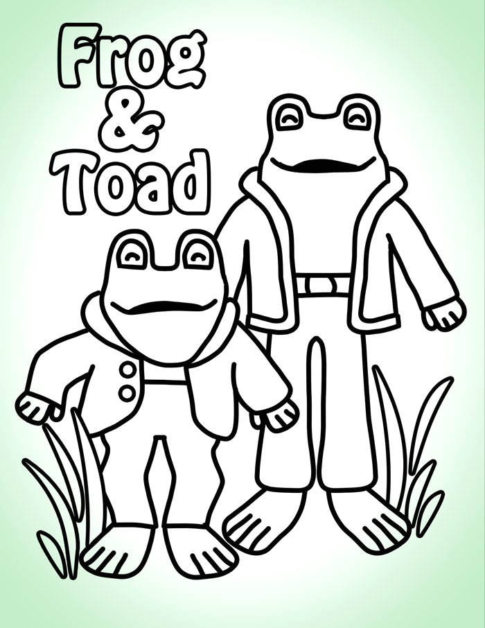 frog and toad craft day
