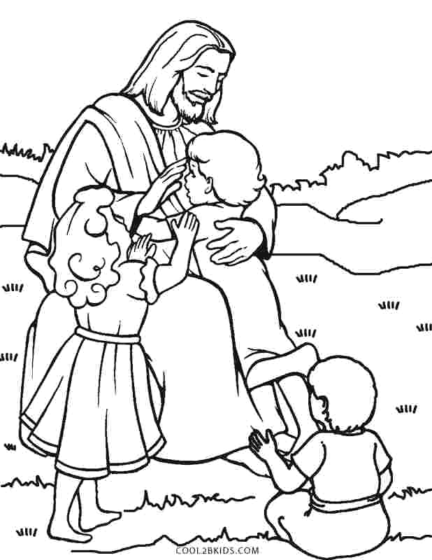 19 following jesus coloring pages
