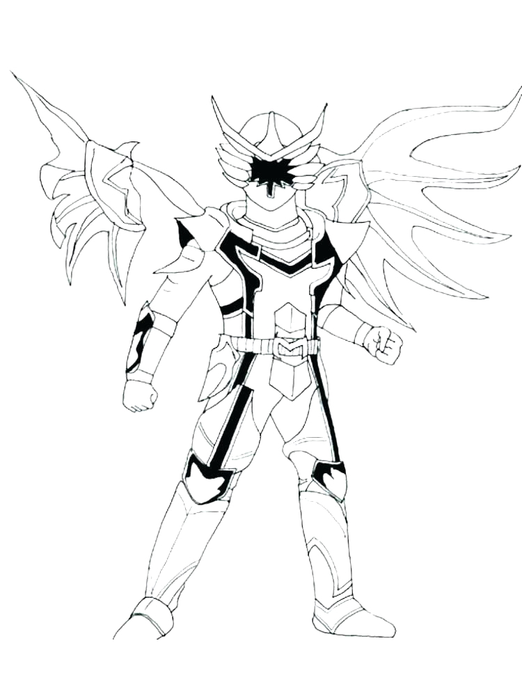 power rangers megazord coloring pages