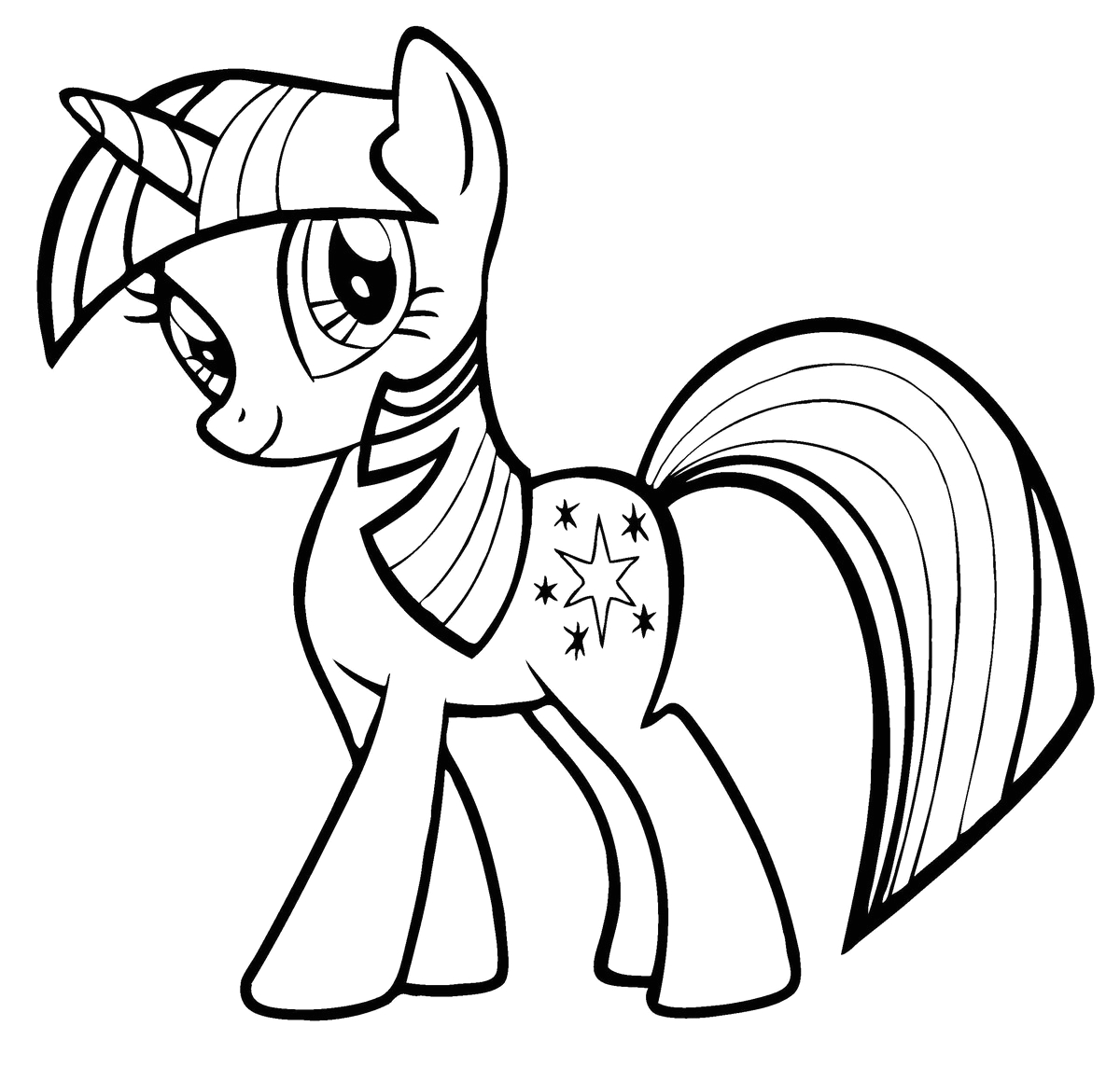 My Little Pony Coloring Pages to Color Online My Little Pony Coloring Pages