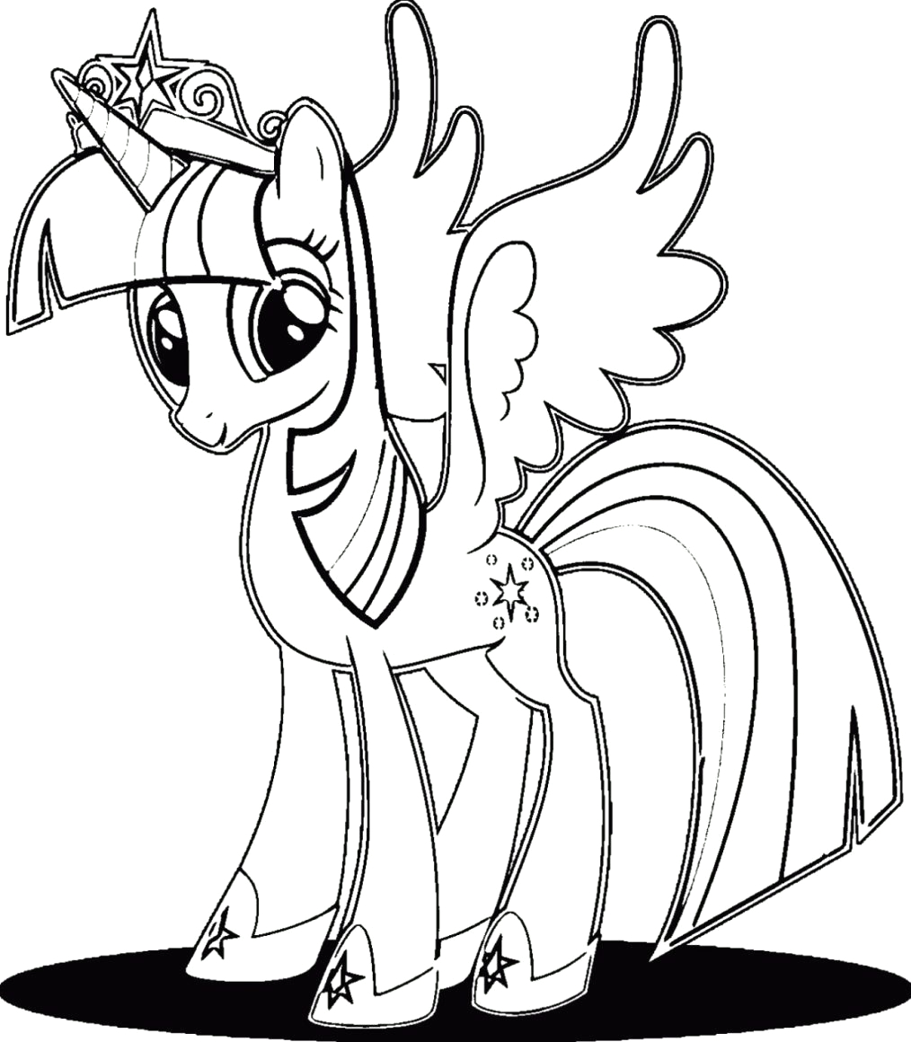 My Little Pony Princess Twilight Sparkle Coloring Pages Twilight Sparkle Coloring Pages Best Coloring Pages for Kids