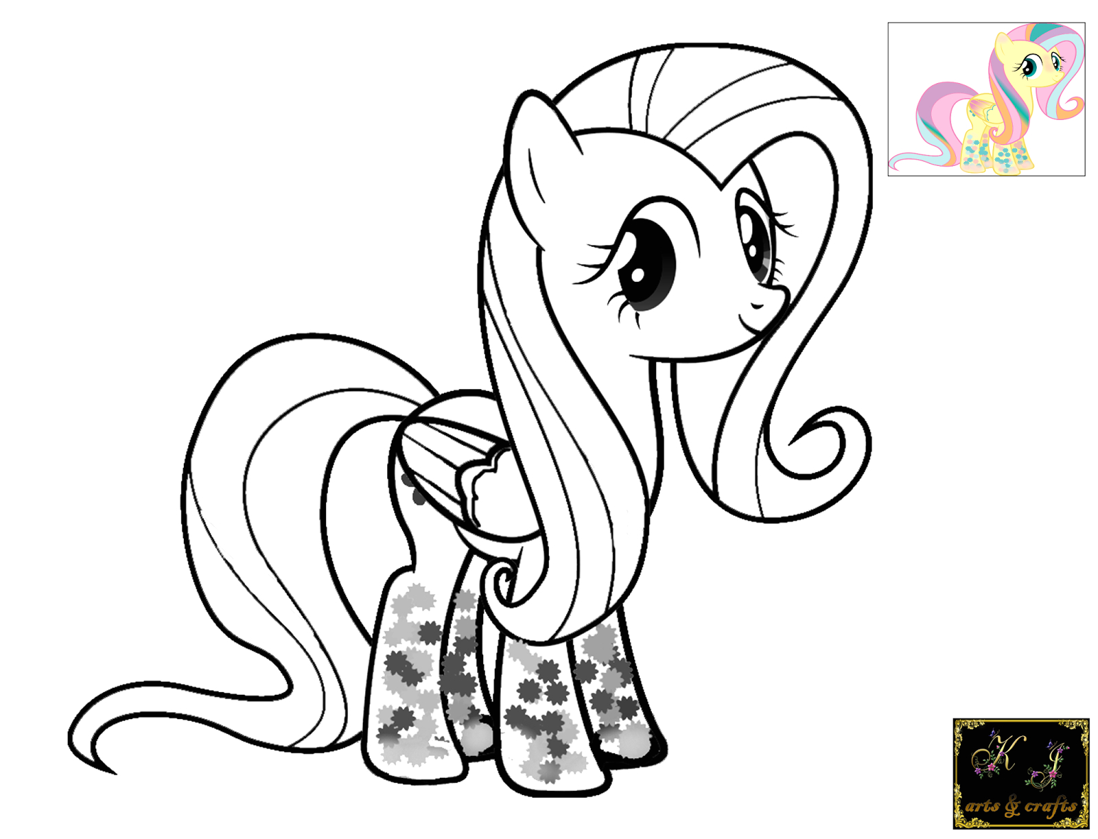My Little Pony Rainbow Power Coloring Pages Kj Coloring Pages Fluttershy