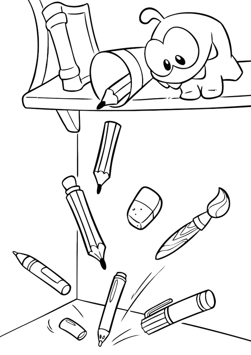 Om Nom Cut the Rope Coloring Pages Om Nom Cut the Rope 2 Coloring Pages Coloring Pages