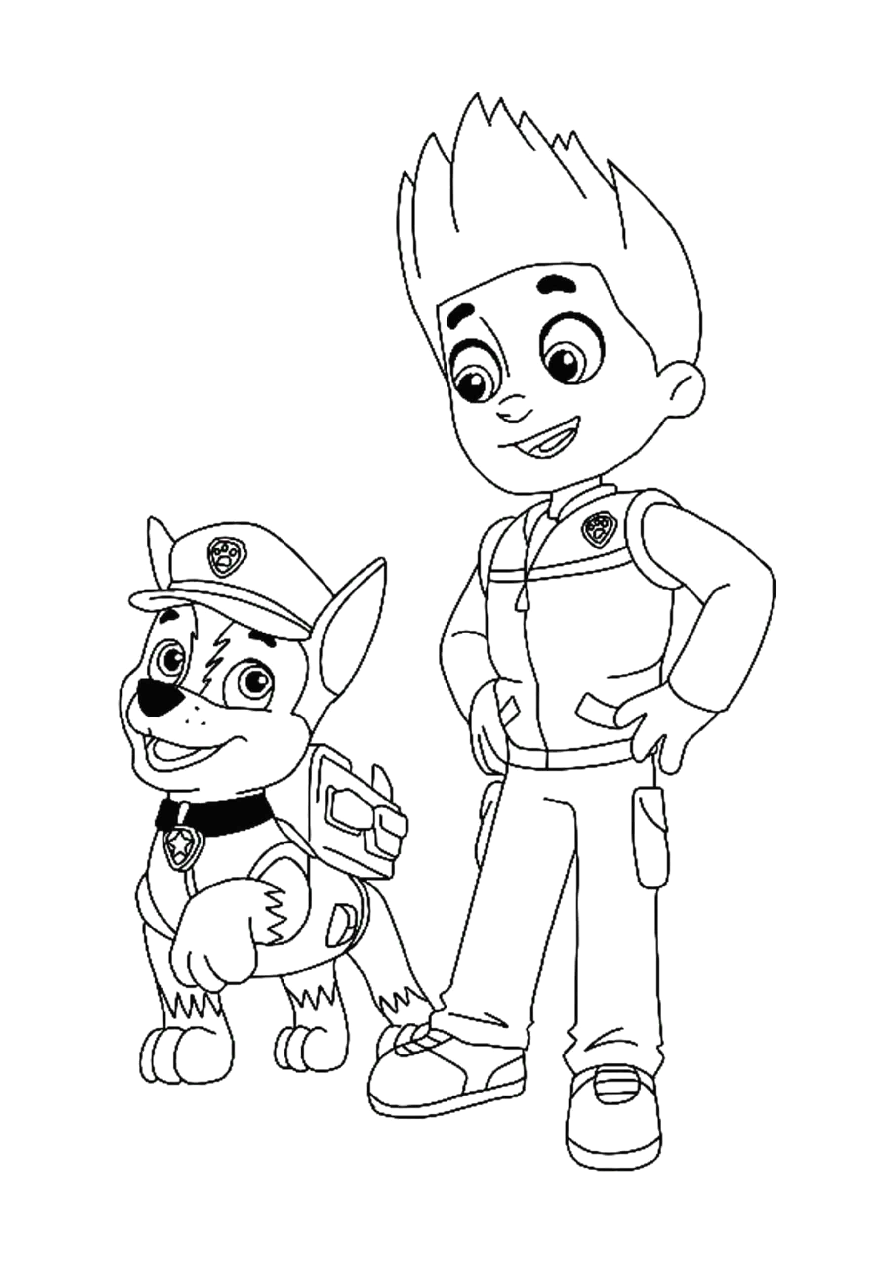 ryder paw patrol coloring pages