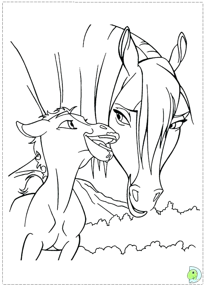 Spirit Stallion Of the Cimarron Coloring Pages to Print Spirit Stallion the Cimarron Coloring Pages at