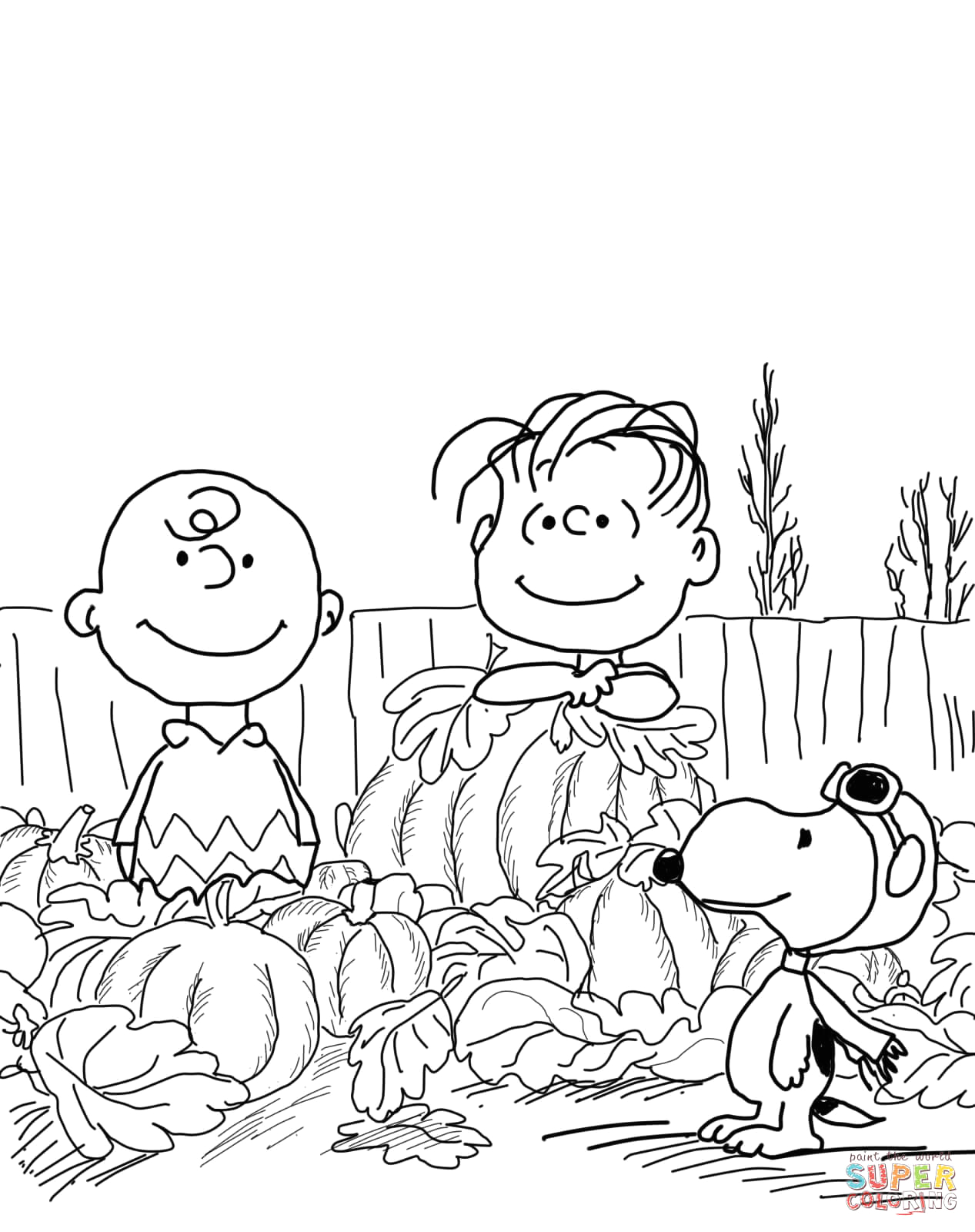 The Great Pumpkin Charlie Brown Coloring Pages Great Pumpkin Charlie Brown Coloring Page