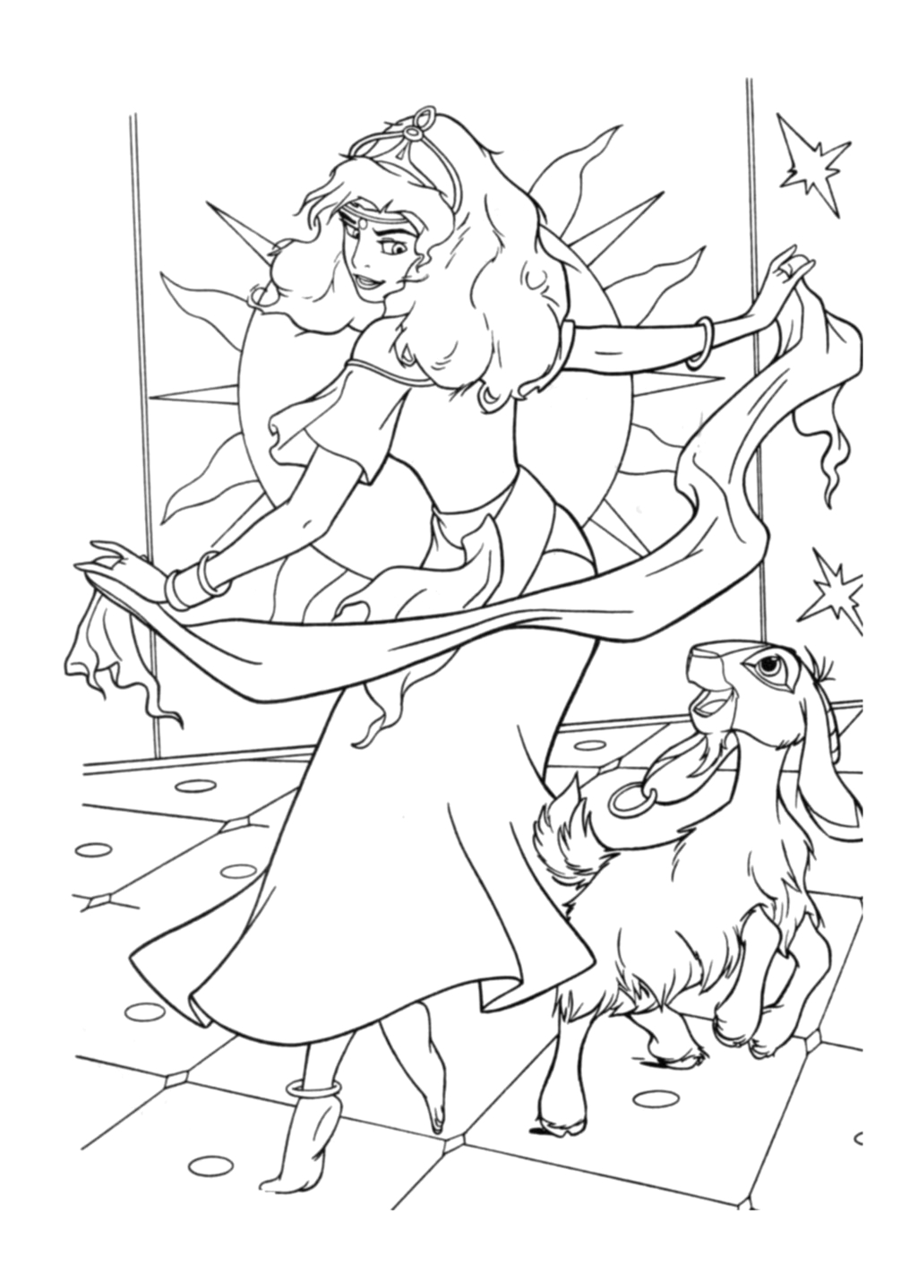 The Hunchback Of Notre Dame Coloring Pages the Hunchback Of Notre Dame to the Hunchback
