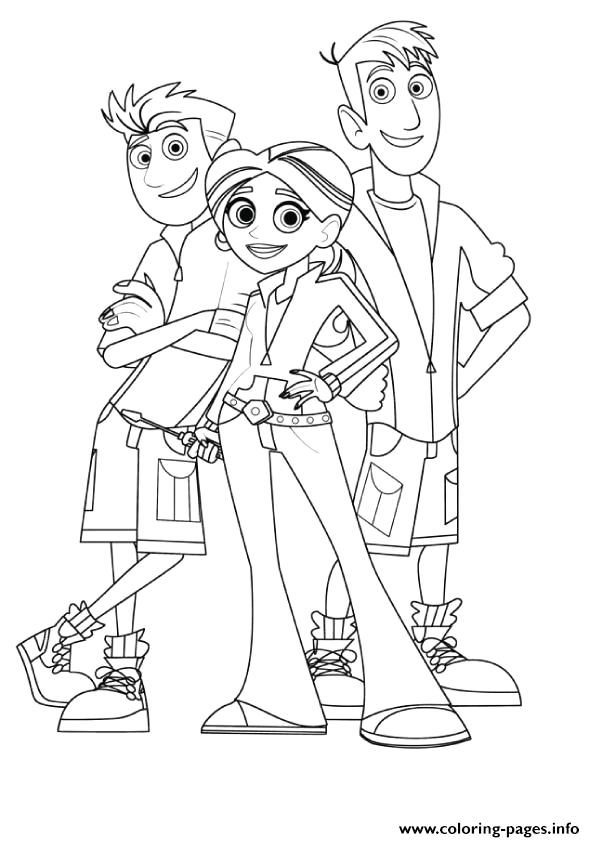 Wild Kratts Coloring Pages Black and White Wild Kratts Coloring Pages Coloring Pages Printable