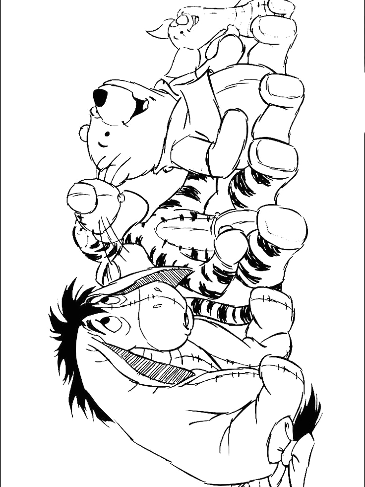Winnie the Pooh Coloring Pages with Quotes Winnie the Pooh Coloring Pages with Quotes In 2020 with