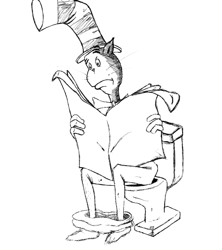 Cat In the Hat Coloring Pages Pdf Cat In the Hat Coloring Pages Pdf at Getcolorings