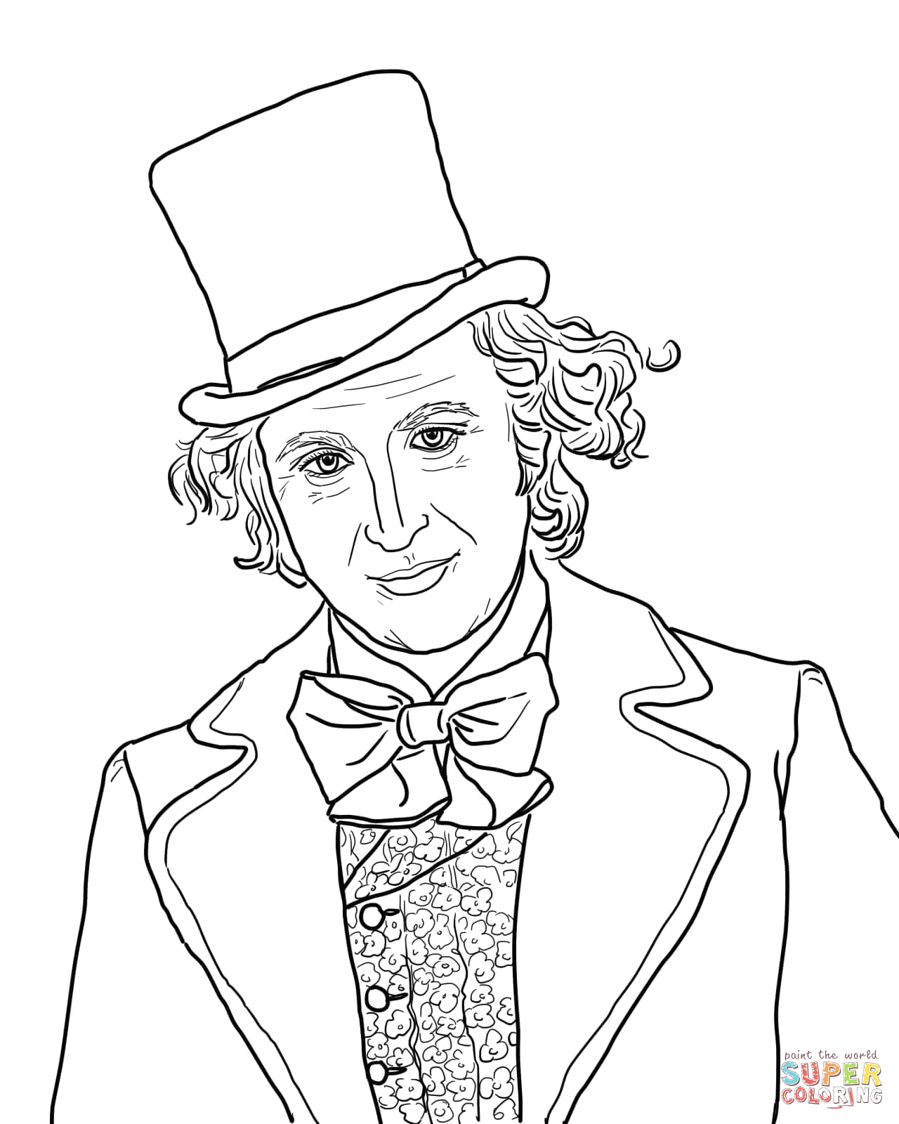 Charlie and the Chocolate Factory Coloring Pages Free Charlie and the Chocolate Factory Coloring Pages