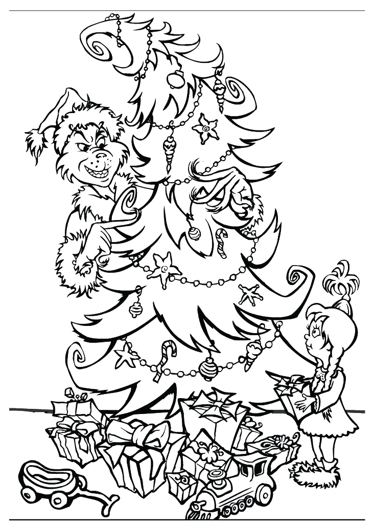 Coloring Pages Of the Grinch who Stole Christmas the Grinch who Stole Christmas Coloring Pages at