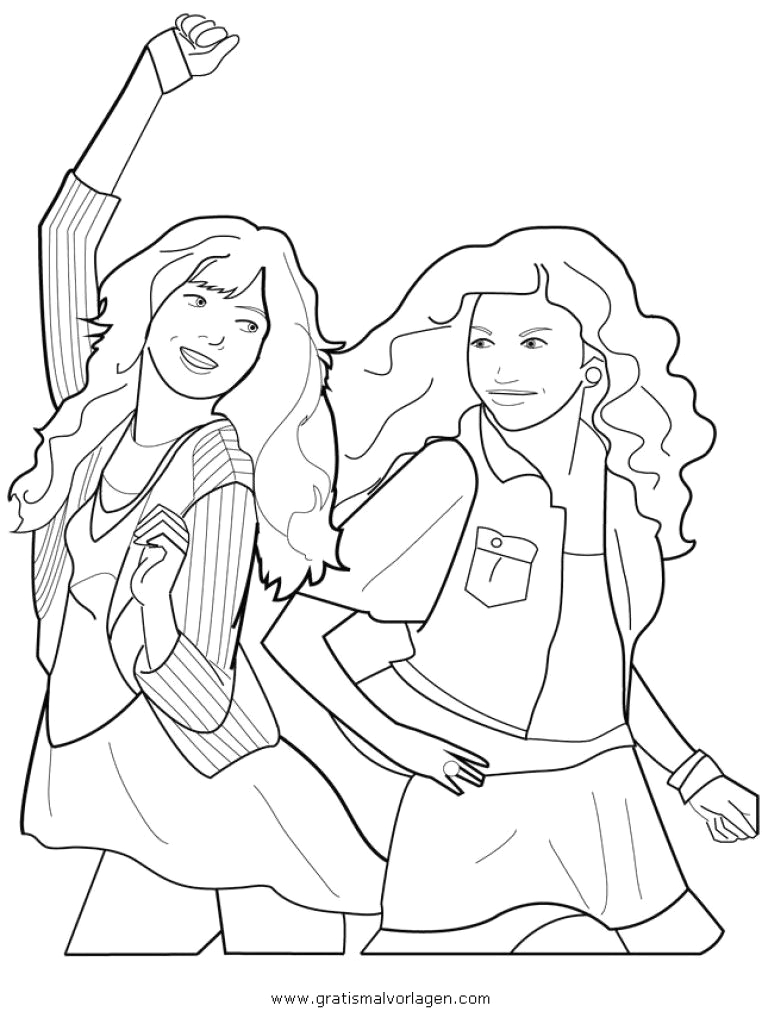 Disney Channel Shake It Up Coloring Pages Shake It Up Free Coloring Pages for Kids