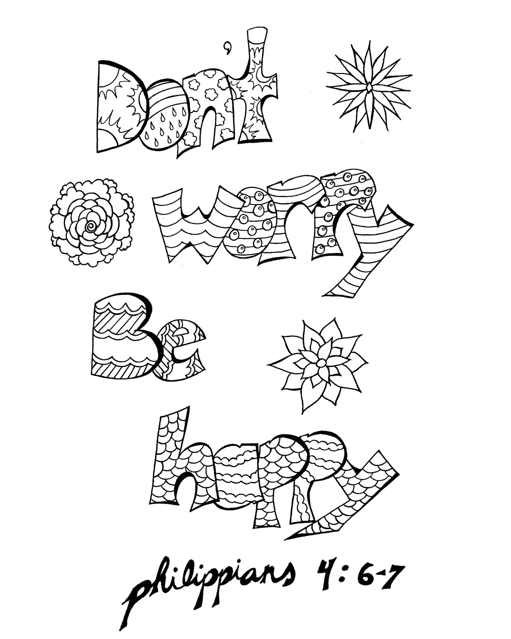 Don T Worry Be Happy Coloring Pages 15 Don T Worry Be Happy Coloring Pages
