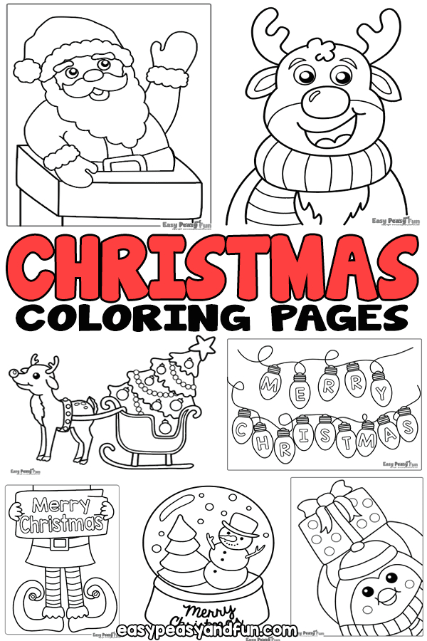 Easy Peasy and Fun Christmas Coloring Pages Christmas Coloring Pages – Easy Peasy and Fun Membership