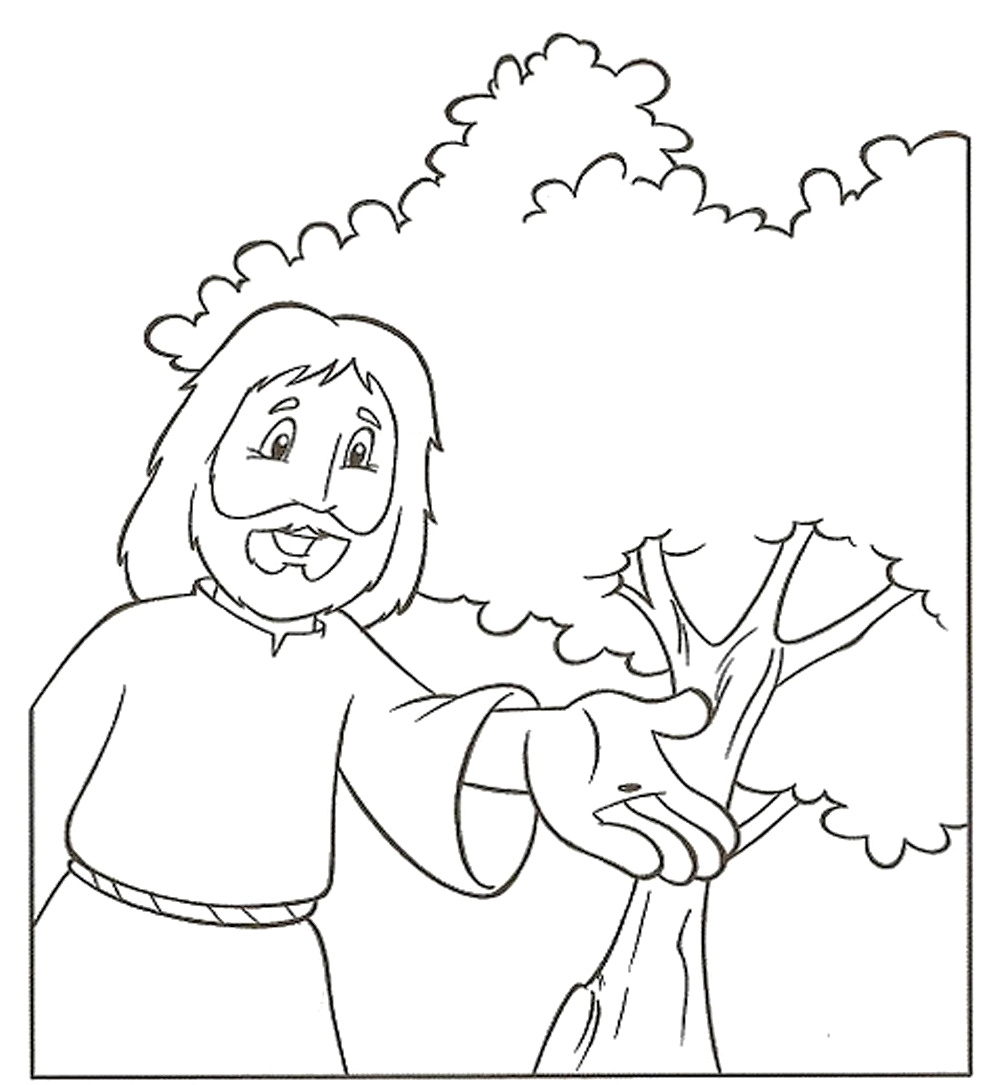 mustard seed coloring pages