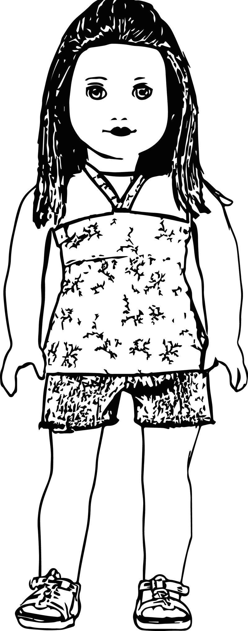 Free Coloring Pages Of American Girl Dolls Cute Ag American Girl Doll Coloring Pages Coloring Sheets