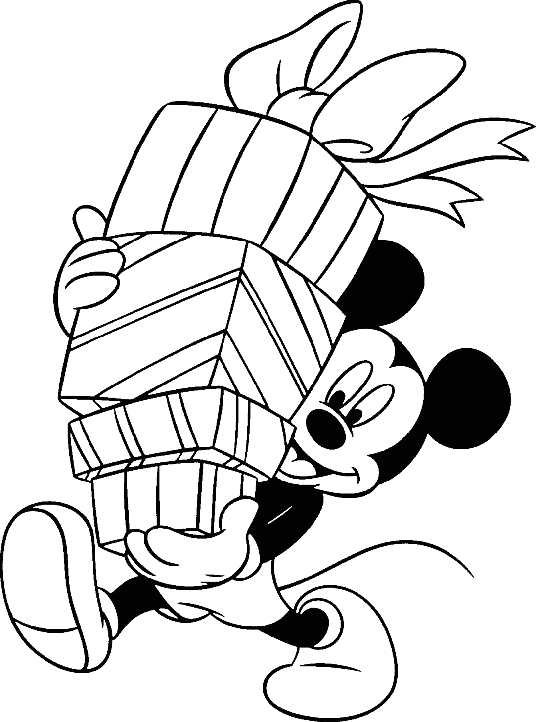 Free Disney Christmas Coloring Pages to Print Free Disney Christmas Printable Coloring Pages for Kids