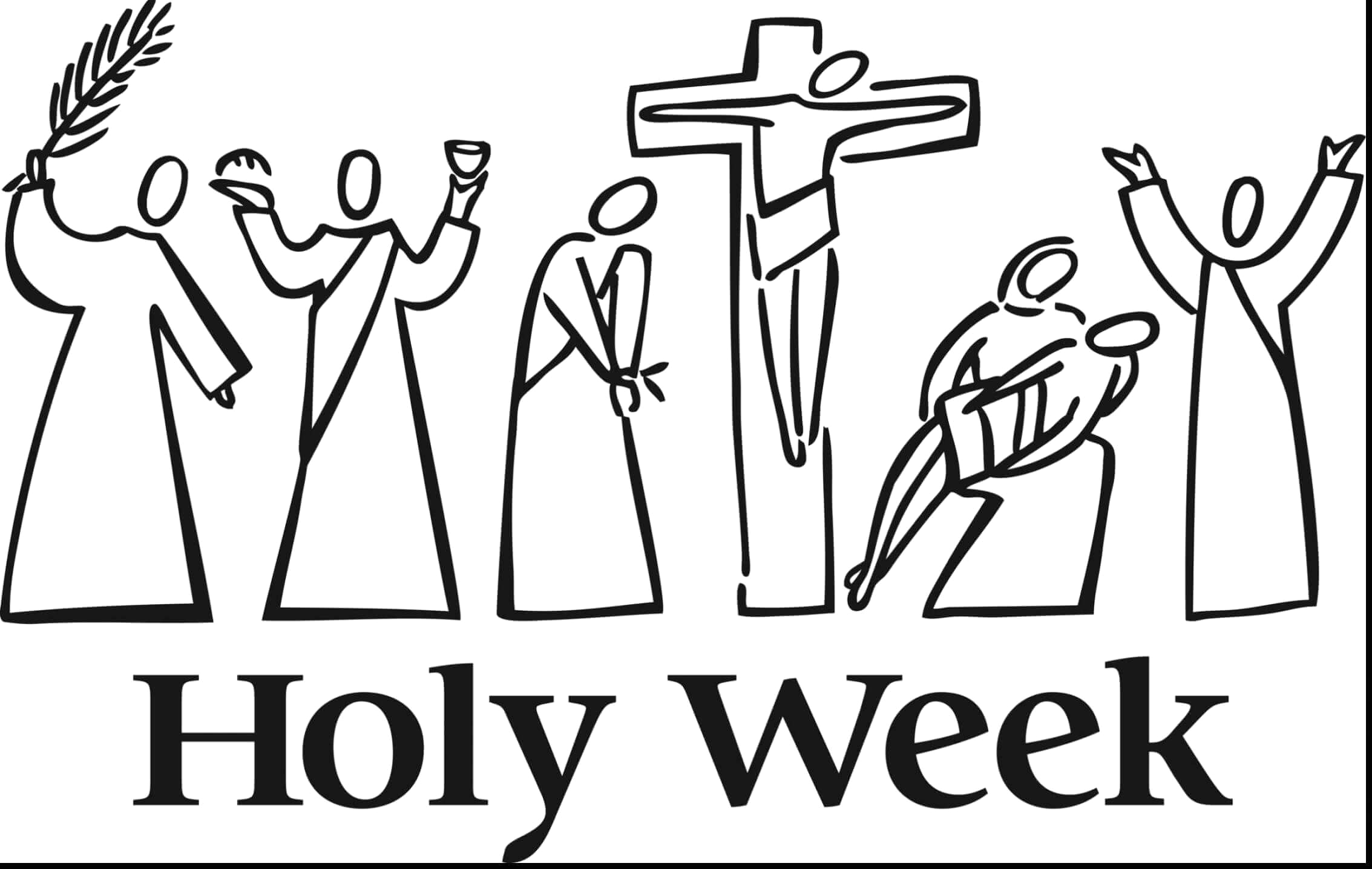 Free Printable Coloring Pages for Holy Week Free Printable Lent Coloring Pages