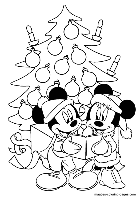 christmas coloring page 004