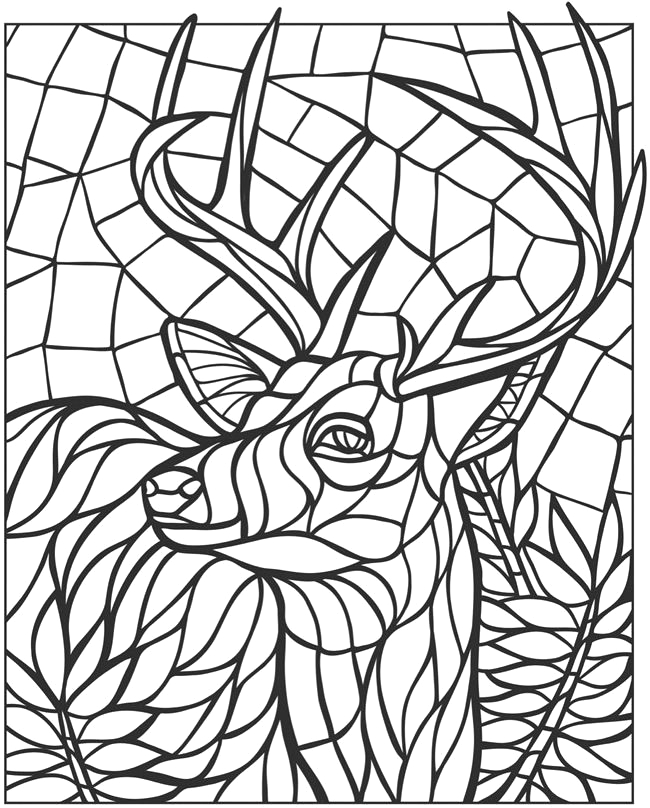 Free Printable Mosaic Coloring Pages for Adults Mosaic Coloring Pages for Adults Coloring Home