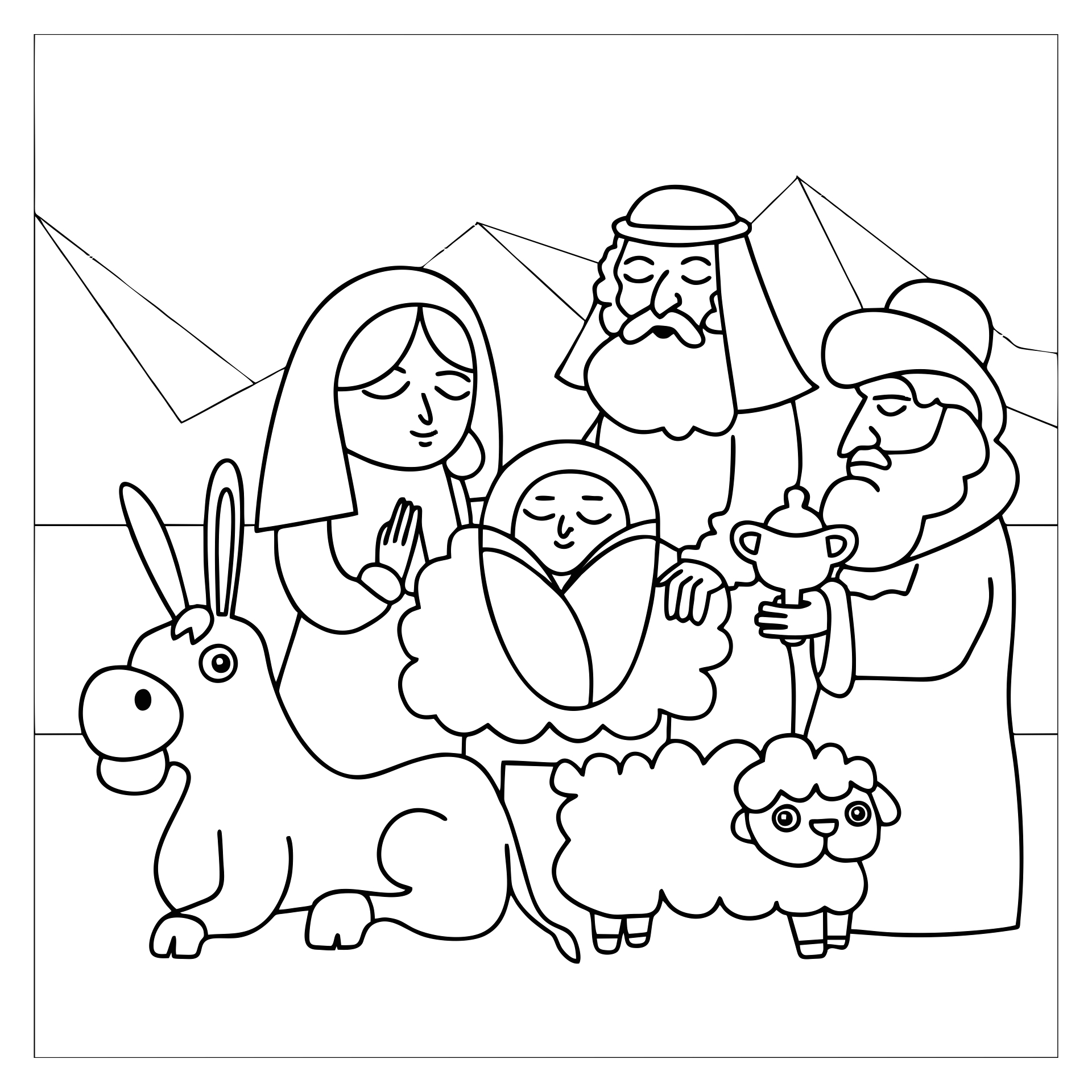 7 best images of nativity story