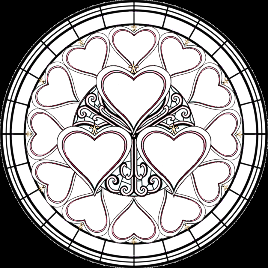 Free Printable Stained Glass Coloring Pages for Adults Free Printable Stained Glass Coloring Pages for Adults
