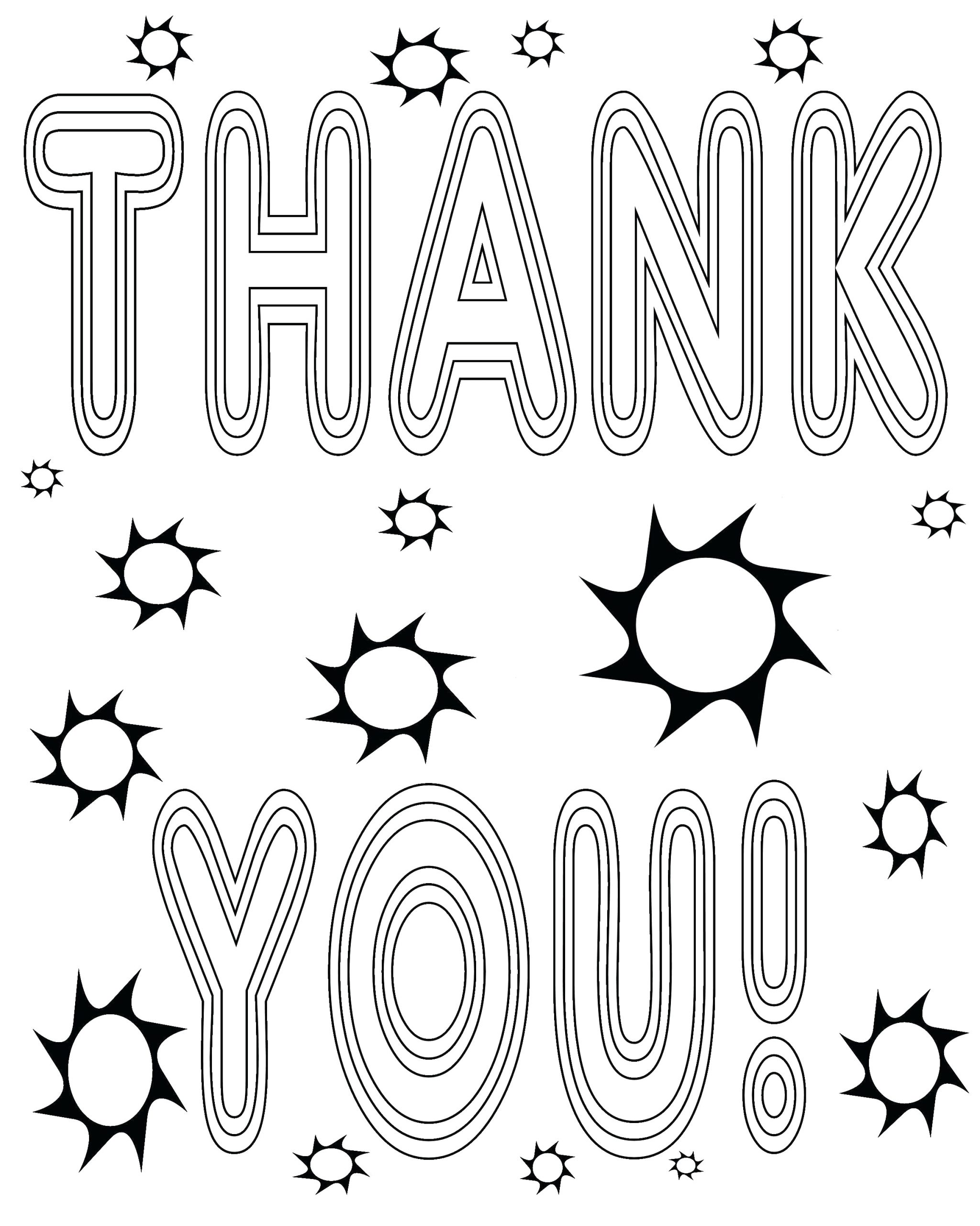 Free Printable Thank You Cards Coloring Pages Printable Coloring Thank You Cards Awesome Coloring Pages