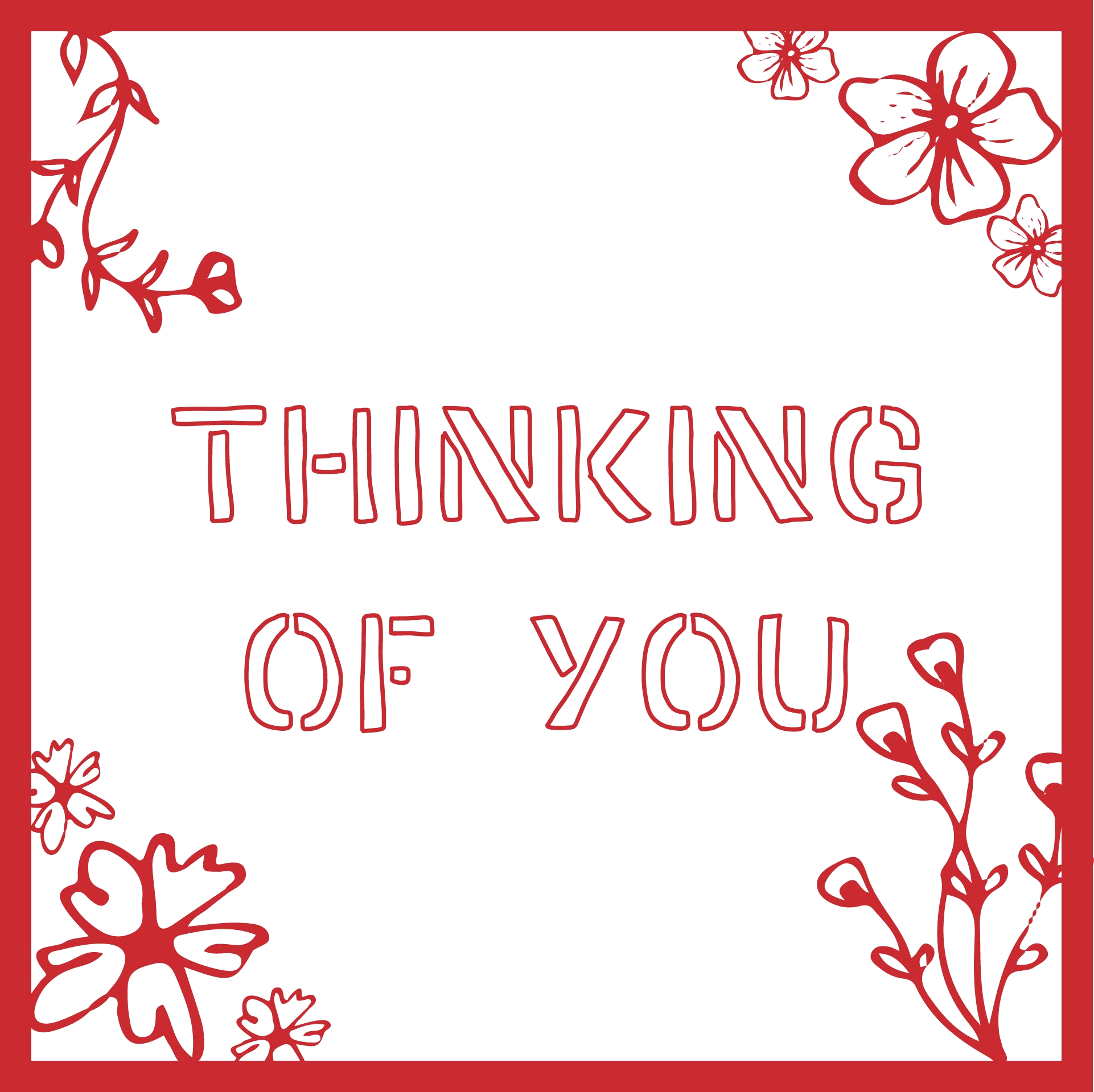 post thinking of you coloring cards printable free