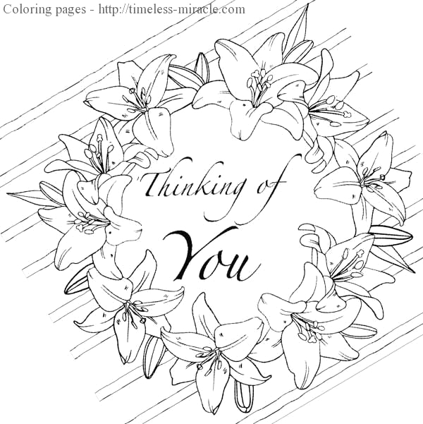 thinking coloring pages