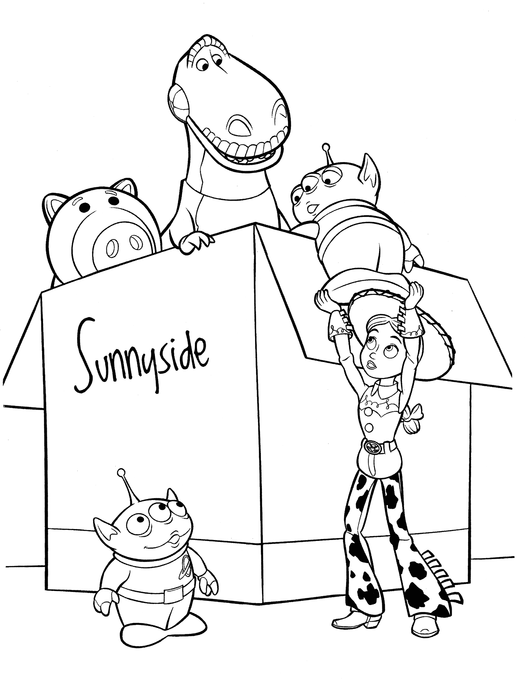 Free Printable toy Story 4 Coloring Pages toy Story 4 Coloring Pages Best Coloring Pages for Kids
