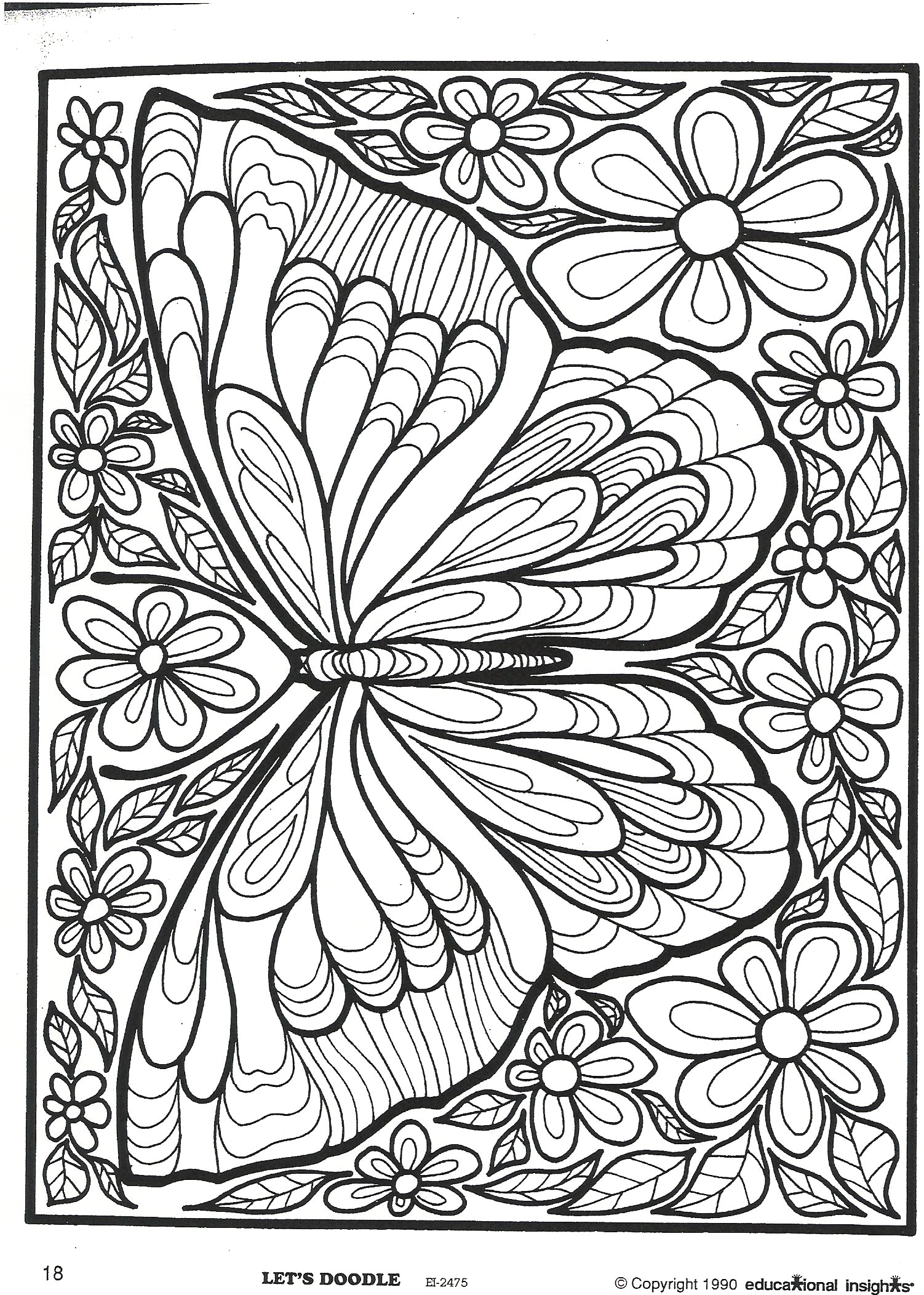 Full Size butterfly Coloring Pages for Adults Pin On Cool Stuff
