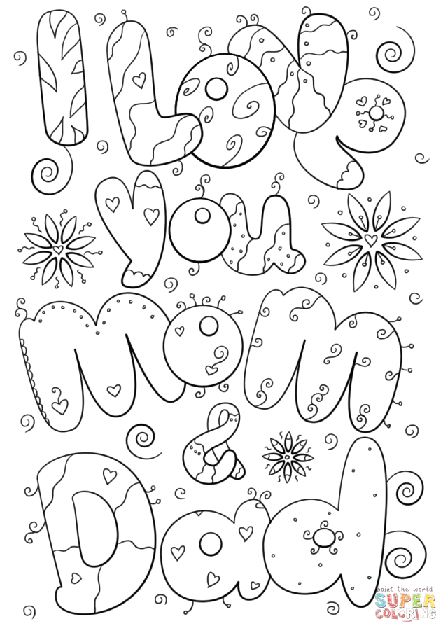 23 best photo of mom coloring pages