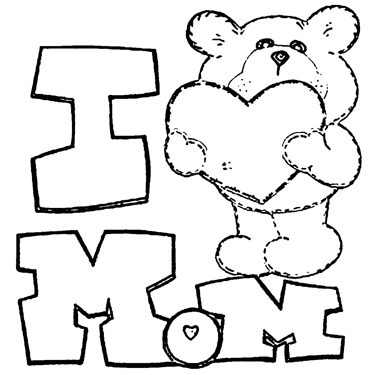 mother and father coloring pages