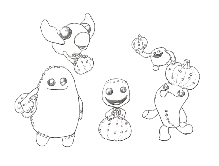 Little Big Planet Coloring Pages to Print Little Big Planet Coloring Pages Coloring Home