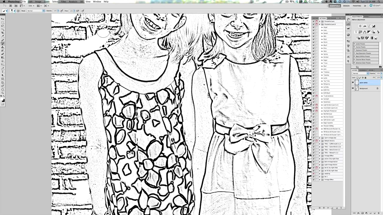 Make A Coloring Page From A Picture How to Create A Coloring Sheet From Your Own Picture